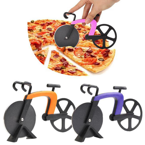 Stainless Steel Bicycle Pizza Cutter