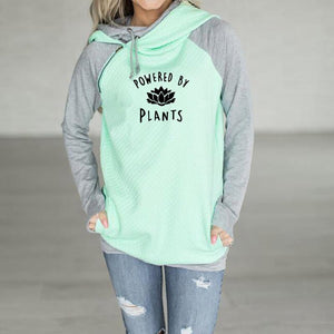 Powered By Plants Double Hoodie