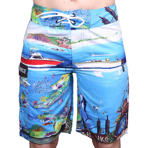 Board Shorts Fishy Tales