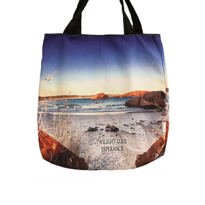 Tote Bag Twilight Cove Reeds