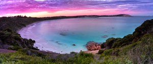 Sunset at Blue Haven bay on Tourist Loop Esperance