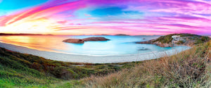 Twilight Cove Winter Sunrise Image Print