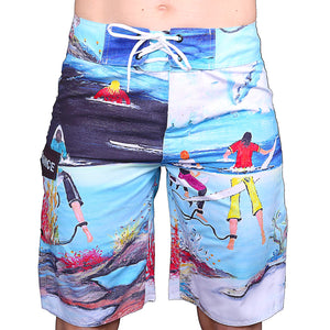 cyclops board shorts front side
