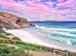 Dempster Head Rock  on West Beach Esperance print
