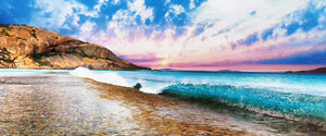 Panoramic West Beach Reef Sunrise Print