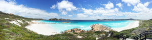 Lucky Bay east side panoramic image print