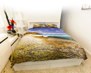 west beach wave king doona cover set image