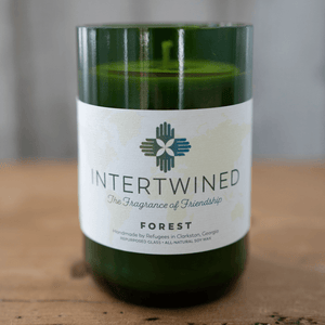 Intertwined Candle: Forest