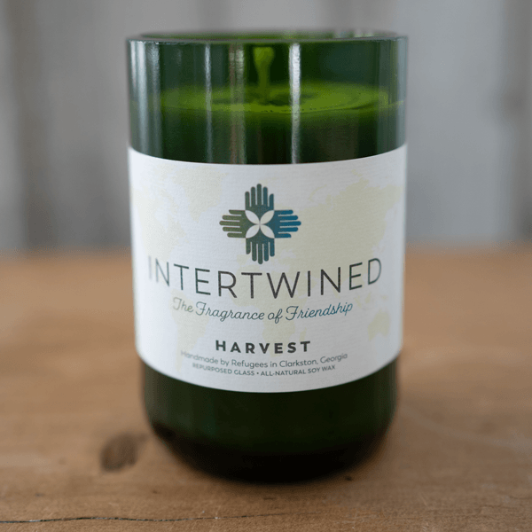 Intertwined Candle: Harvest