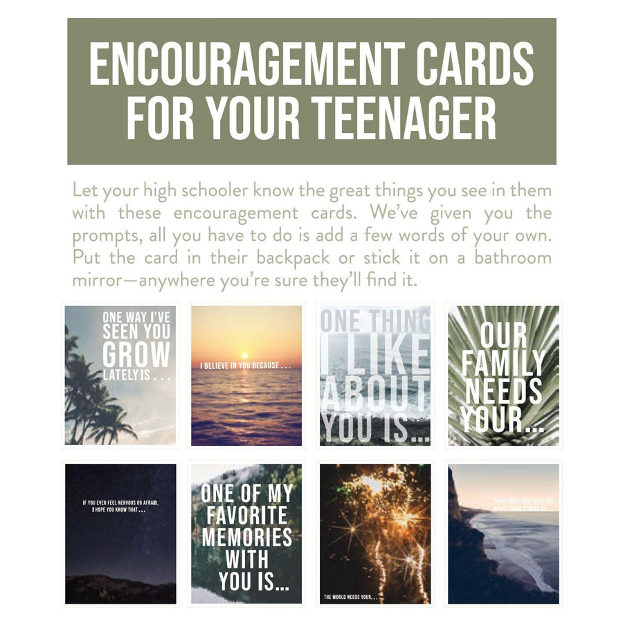 Encouragement Cards for Your Teenager