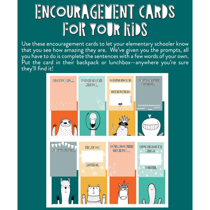 Encouragement Cards for Your Kids