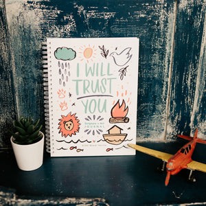 I Will Trust You Scripture + Art Journal