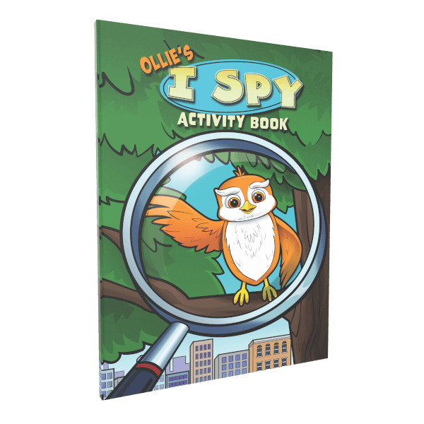 Ollie's I Spy Activity Book