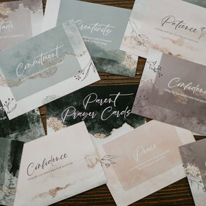 Parent Prayer Cards (Set of 12 cards)