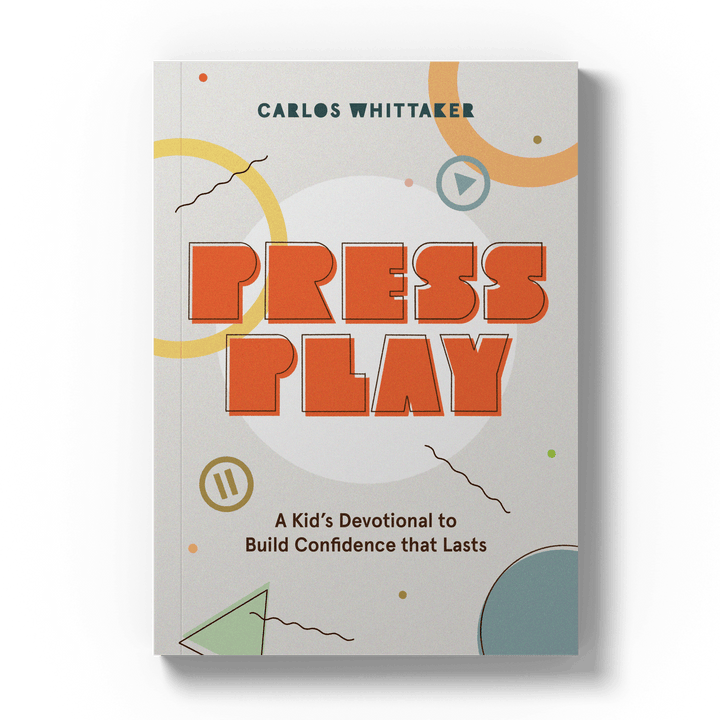 Press Play: A Kid's Devotional to Build Confidence That Lasts (*PRE-ORDER*)