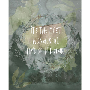 Seasonal Watercolor Art Prints (set of 8)
