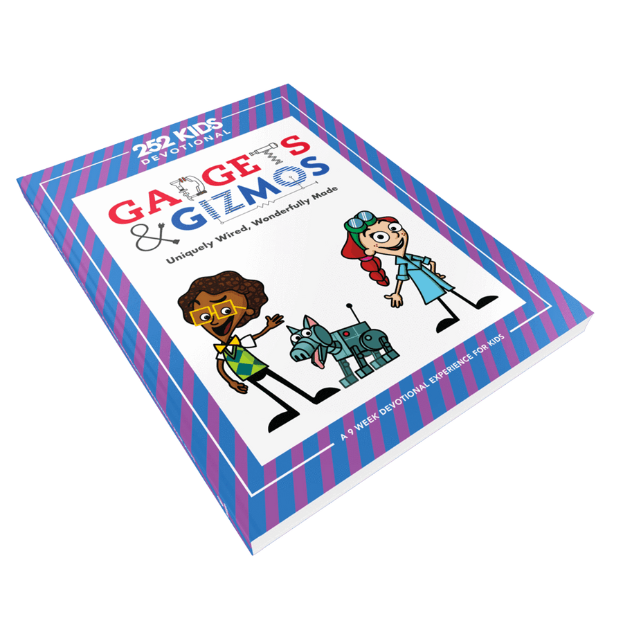 Gadgets & Gizmos - Uniquely Wired, Wonderfully Made: A 9 Week Devotional Experience For Kids