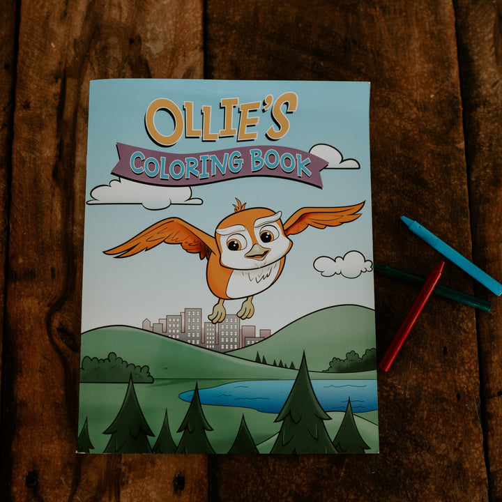 Ollie's Coloring Book