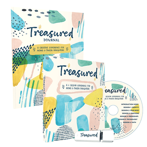 Treasured Study and Journal Bundle: A Creative Experience for Moms and Tween Daughters