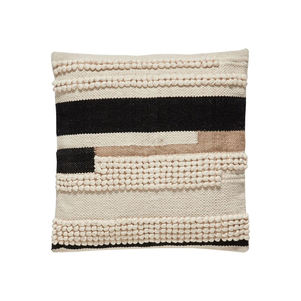 Textured Macramé Cushion