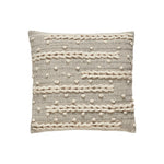 Neutral Macramé Cushion