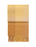 Alpaca Inca Stone Throw Yellow