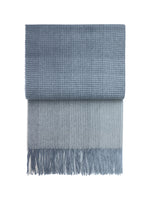 Alpaca Horizon Throw Midnight Blue