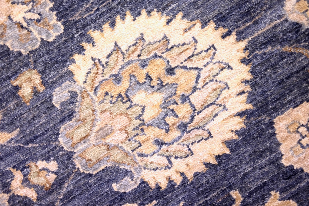 Hand-knotted traditional rug