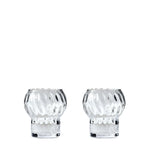 Clear Dots Carafe & 2 Glasses Set