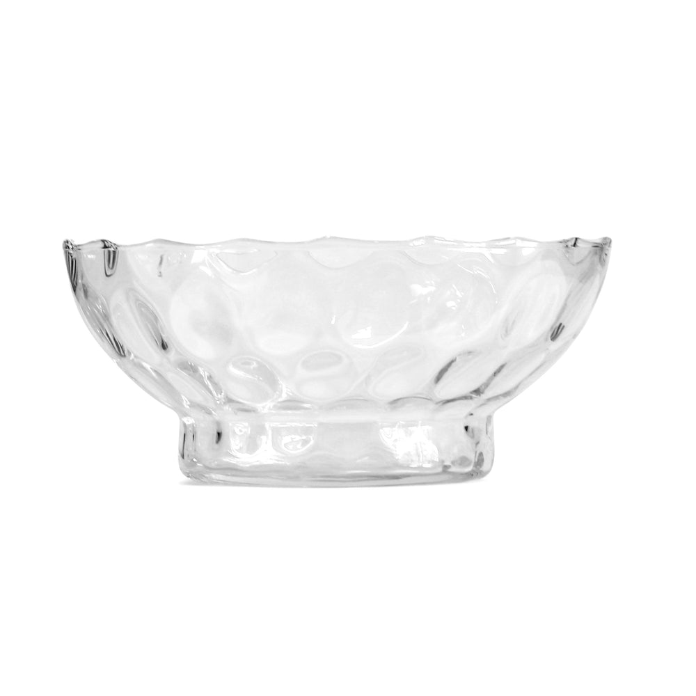 Clear Dots Glass Bowl
