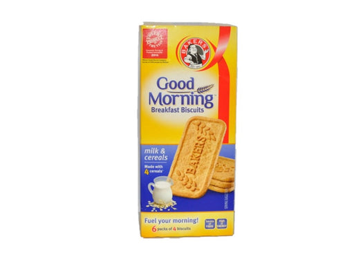 Bakers  Good Morning Breakfast Biscuit Milk and Cereal 300g