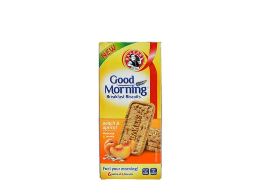 Bakers Good Morning Breakfast Biscuit Peach & Apricot 300g