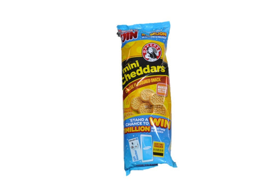 Bakers  Mini Cheddars Cheese 6 units 198g