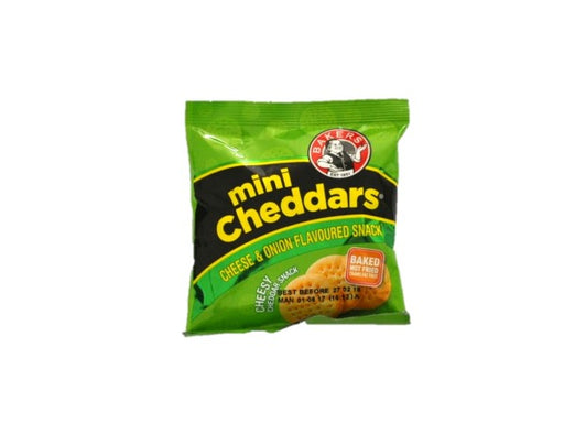 Bakers Mini Cheddar Cheese & Onion 33g