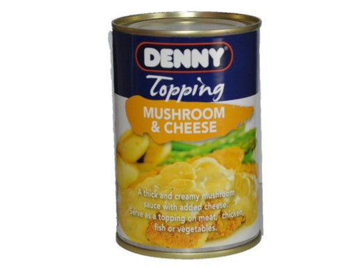 Denny - Topping Mushroom & Cheese 300g