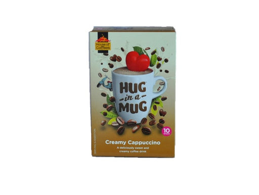 House of Coffees  Hug in a Mug Creamy Cappuccino 240g