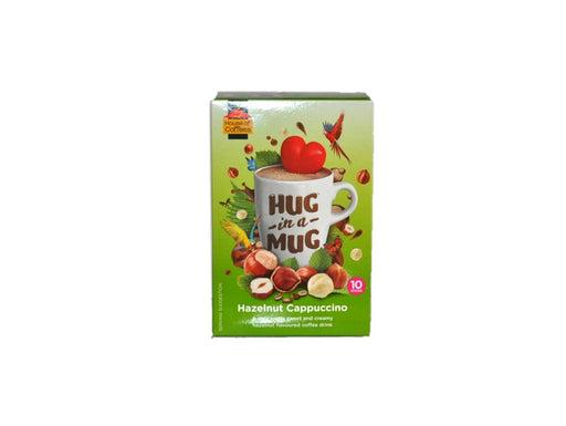 House of Coffees  Hug in a Mug Hazelnut Cappuccino 240g