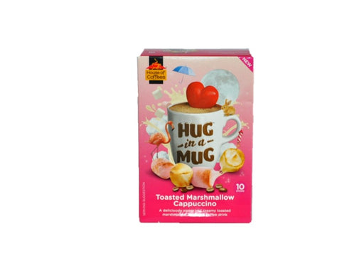 House of Coffees  Hug in a Mug Toasted Marshmallow Cappuccino 240g
