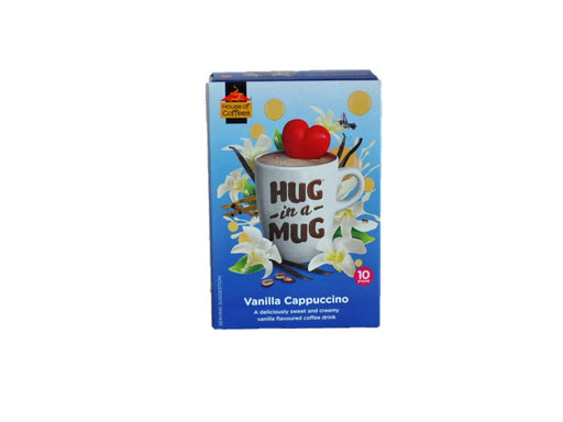 House of Coffees  Hug in a Mug Vanilla Cappuccino 240g