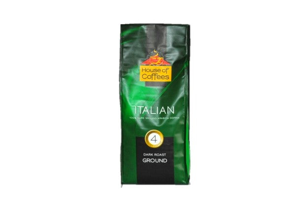 House of Coffees - Italian Blend Filter Ground Coffee 250g