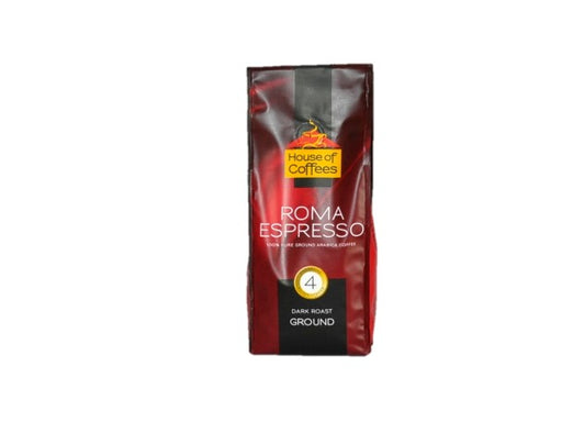 House of Coffees - Roma Espresso Ground Coffee 250g
