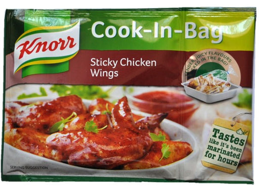 Knorr - Cook in Bags Sticky Chicken Wings 35g