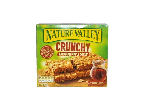 Nature Valley - Crunchy Canadian Maple Syrup 6 Per Box 252g