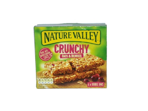 Nature Valley - Crunchy Oats & Berries Bars 6 Per Box 252g