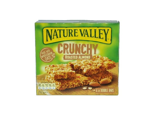 Nature Valley - Crunchy Roasted Almonds Bars 6 Per Box 252g