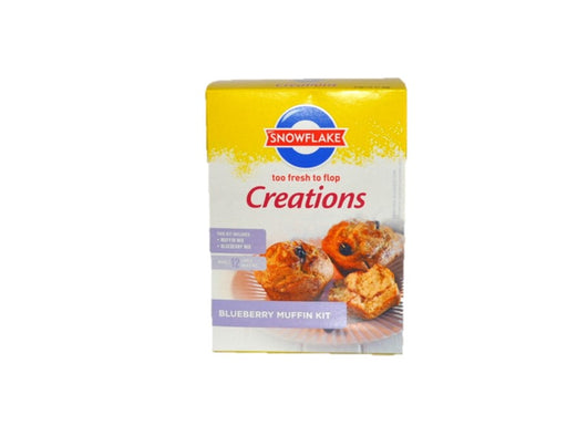 Snowflake - Creations Blueberry Muffin Kit 600g