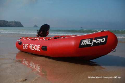 Zodiac MilPro Inflatable Rescue Boat (IRB) - ZMSR 380 - Basic Boat