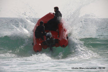 Zodiac MilPro Inflatable Rescue Boat - ZMSR 380 - Racing Boat