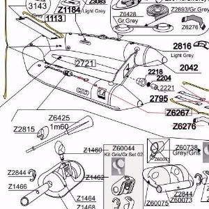Cadet Yachtline 260 Parts Diagram