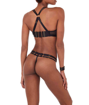 Bordelle Scala Thong Black